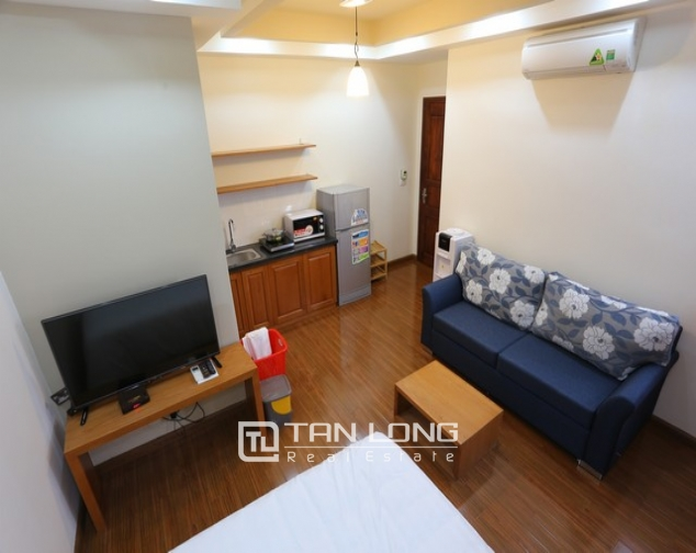 Studio apartment with nice decoration for rent in Duy Tan, Cau Giay, Hanoi 3