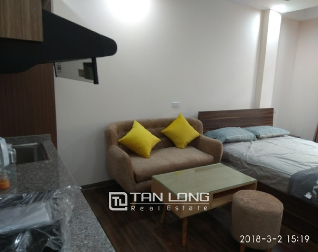Studio for rent on Huynh Thuc Khang street, Dong Da 4