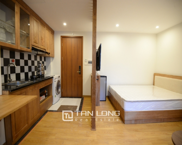 Studio with Japanese style for rent on Linh Lang street, Ba Dinh 6