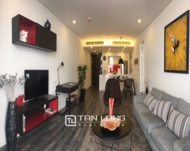 Stunning 1 bedroom serviced apartment for rent at Somerset West Point Hanoi Tay Ho area 1