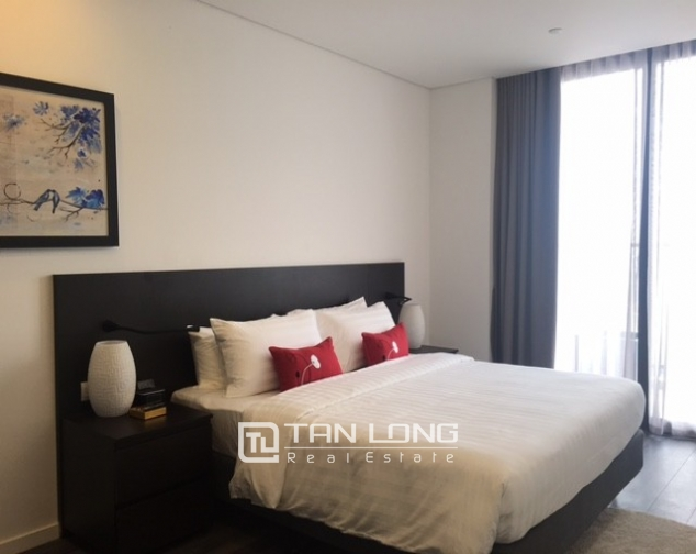 Stunning 1 bedroom serviced apartment for rent at Somerset West Point Hanoi Tay Ho area 4