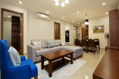 Stunning golf view 3 bedroom apartment for rent in L tower The Link Ciputra