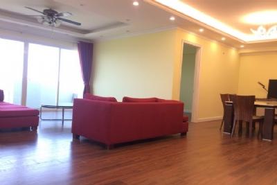Super bright 3 bedroom apartment on high floor for rent in E1 tower Ciputra