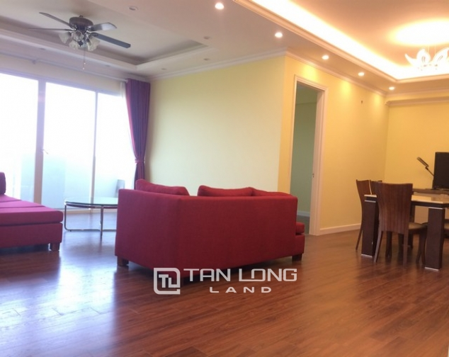 Super bright 3 bedroom apartment on high floor for rent in E1 tower Ciputra 1