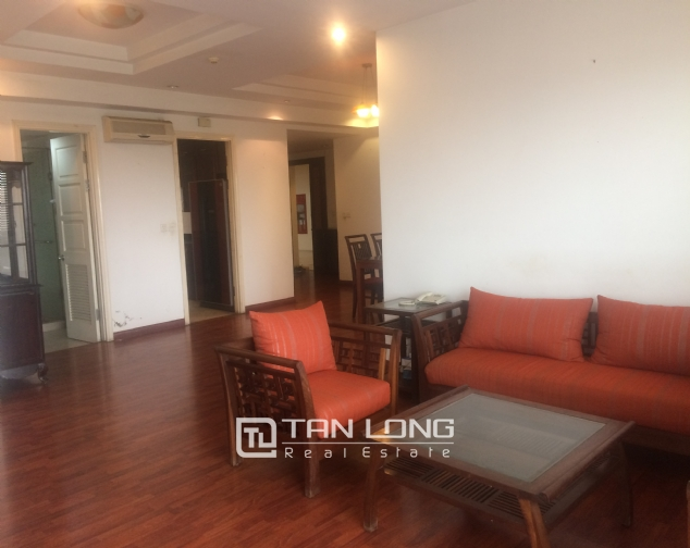 SUPER bright and cozy 4 bedroom apartment for rent with full furnishing in E5 building, Ciputra, Ha Noi 2