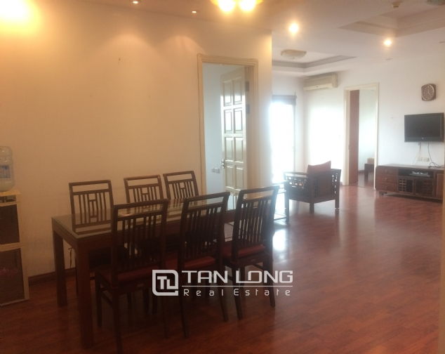 SUPER bright and cozy 4 bedroom apartment for rent with full furnishing in E5 building, Ciputra, Ha Noi 4
