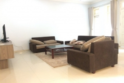 Super bright and modern villa for rent in D block Ciputra urban area