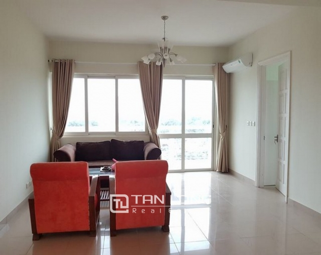 Super bright and new 3 bedroom full furnished apartment for rent in E1 building, Ciputra 1