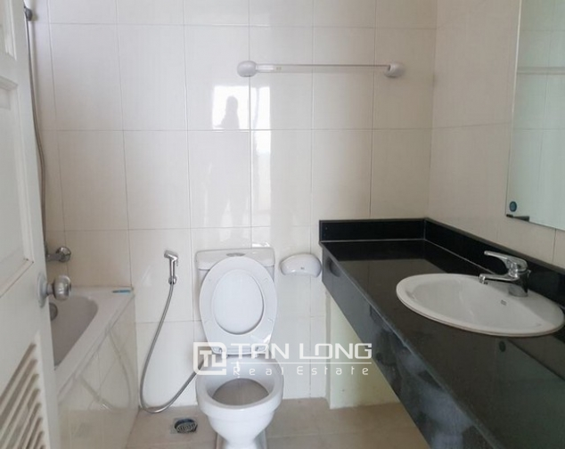 Super bright and new 3 bedroom full furnished apartment for rent in E1 building, Ciputra 8