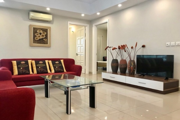 Super cheap and furnished 3 bedroom apartment for rent in E1 tower Ciputra Tay Ho