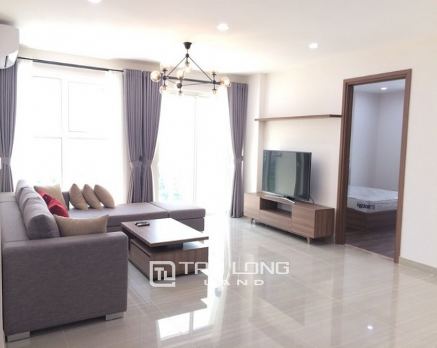 Super modern and new 3 bedroom furnished apartment for rent in L3 The Link Ciputra Tay Ho 2