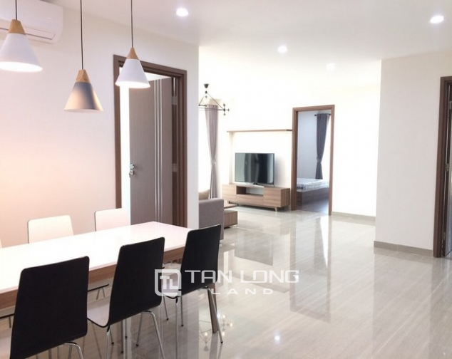 Super modern and new 3 bedroom furnished apartment for rent in L3 The Link Ciputra Tay Ho 4