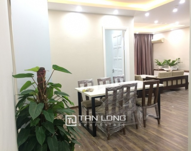Super new and modern 3 bedroom apartment for rent in E4 buidling, Ciputra, Ha Noi 1