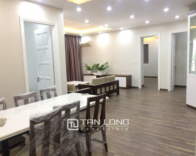 Super new and modern 3 bedroom apartment for rent in E4 buidling, Ciputra, Ha Noi 2