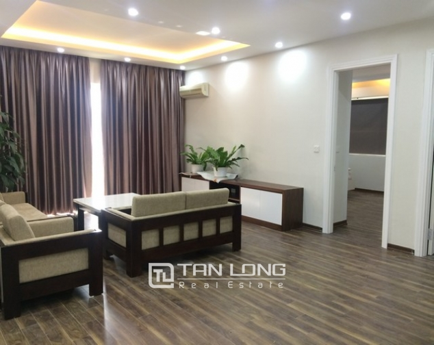 Super new and modern 3 bedroom apartment for rent in E4 buidling, Ciputra, Ha Noi 3