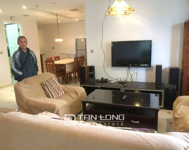 Super new and modern 4 bedroom fully furnished apartment for rent in E4 building, Ciputra 1
