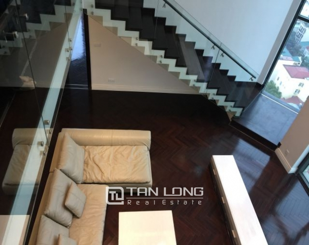 Superb duplex apartment for rent in Hoang Thanh building, Mai Hac De street 4