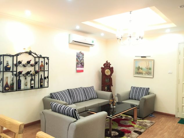 Sweet 3 bedroom apartment for rent in CT13B, Ciputra urban area, Hanoi