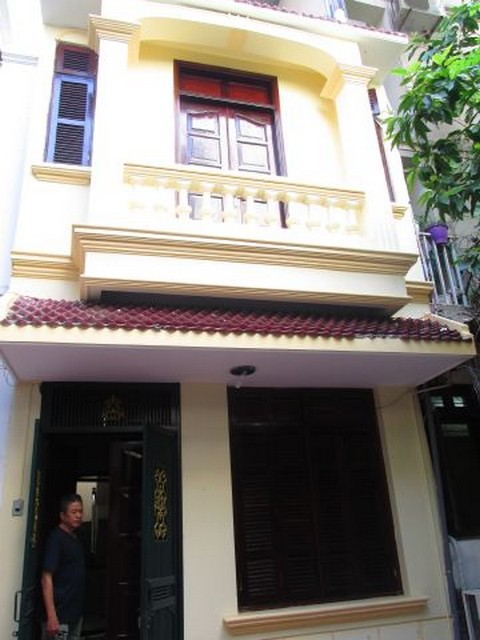 The house for rent on Tran Quoc Toan, Hoan Kiem