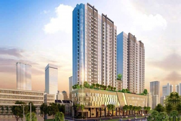 The opportunity to invest in a very attractive commercial shop at the super project Sunshine Crystal River, Ciputra urban area, Hanoi