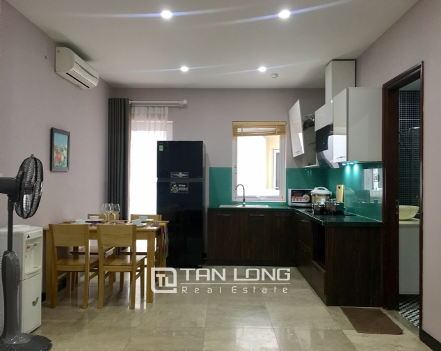 The peaceful apartment in Au Co Street, Tay Ho dist., Hanoi for rent. 3