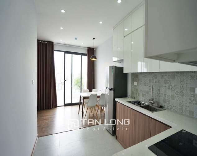 Top-floor apartment for rent on Trinh Cong Son street 1