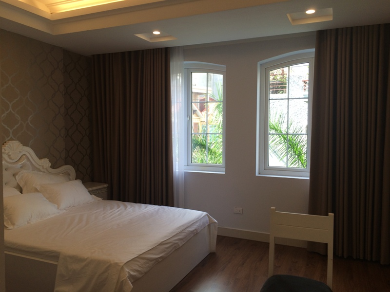Tranquil 1 bedroom serviced apartment rental in Trung Kinh, Cau Giay, Hanoi