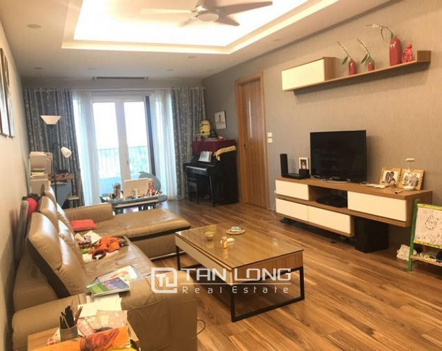 Unique and modern 3 bedroom apartment for rent in P building Ciputra 1