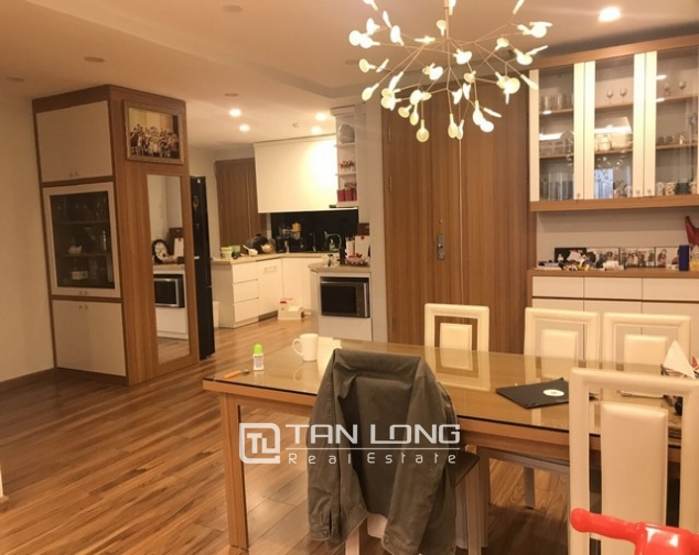 Unique and modern 3 bedroom apartment for rent in P building Ciputra 2