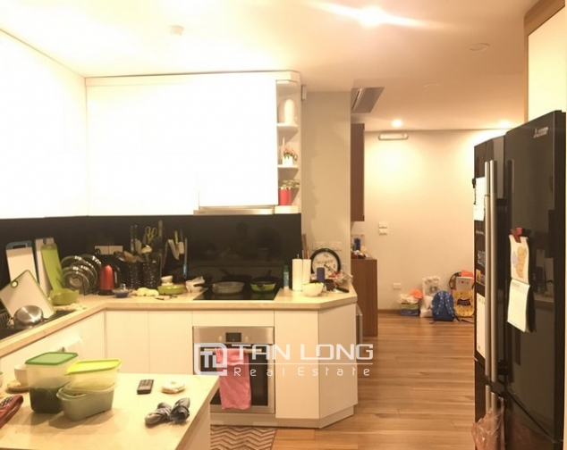 Unique and modern 3 bedroom apartment for rent in P building Ciputra 3