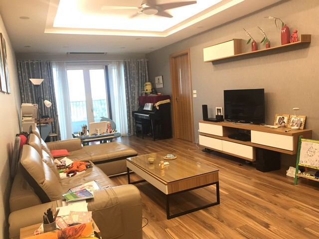 Unique and modern 3 bedroom apartment for rent in P building Ciputra