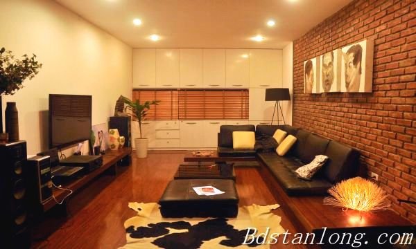 Very modern and well furnished house, nearby Hoa Binh park, in Tu Liem district