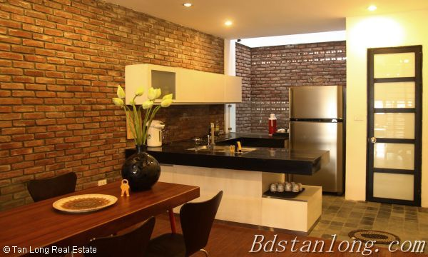 Very modern and well furnished house, nearby Hoa Binh park, in Tu Liem district 8