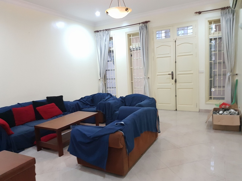 Villa for rent in Ciputra urban area, Tay Ho District, Ha Noi.