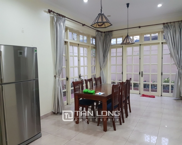Villa for rent in Ciputra urban area, Tay Ho District, Ha Noi. 8