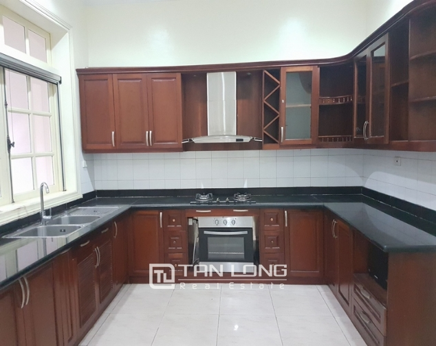 Villa for rent in Ciputra urban area, Tay Ho District, Ha Noi. 9