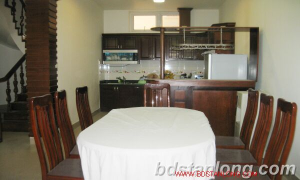 Villa for rent in Tay Ho road, Tay Ho dist, Hanoi 4
