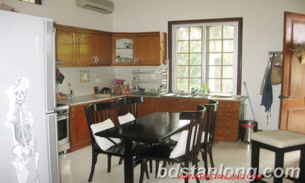 Villa for rent in Tay Ho Westlake Hanoi, swimming pool 6