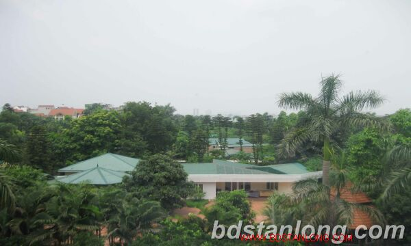 Villa for rent in Tay Ho Westlake Hanoi, swimming pool 5