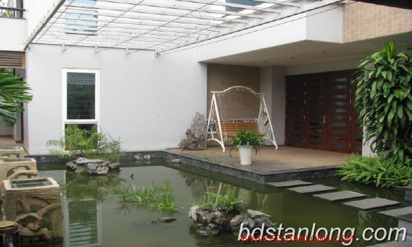 Villa for rent in Vuon Dao, Tay Ho district, Hanoi 5