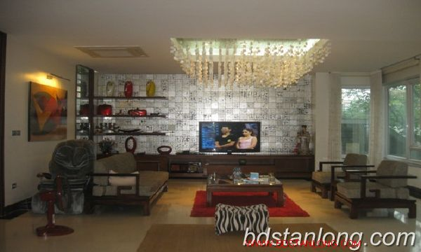 Villa for rent in Vuon Dao, Tay Ho district, Hanoi 9