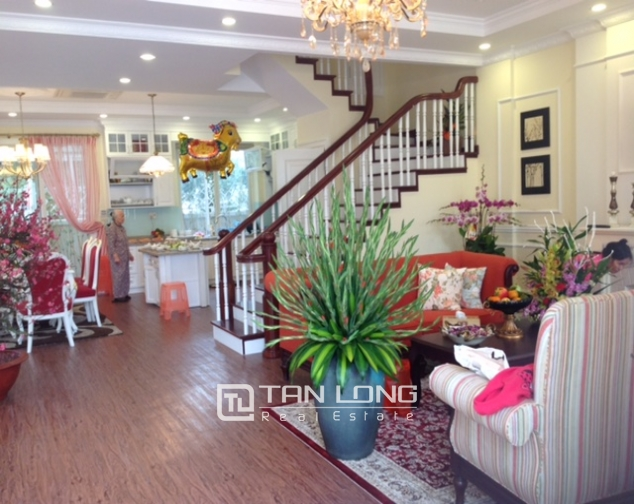 Villa For Rent on Anh Dao 6, Vinhomes Riverside, 162 sqm 1