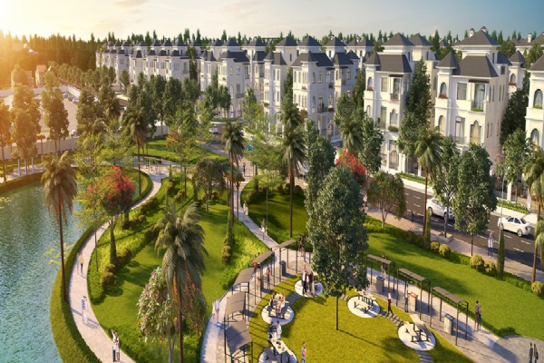VILLA VILLAS VINHOMES GREEN VILLAS GREAT MOM. 194m2 !!!