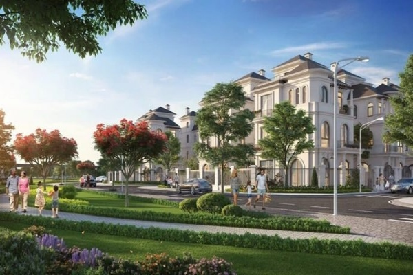 VILLA VILLAS VINHOMES GREEN VILLAS GREAT MOM. 232m2 !!!