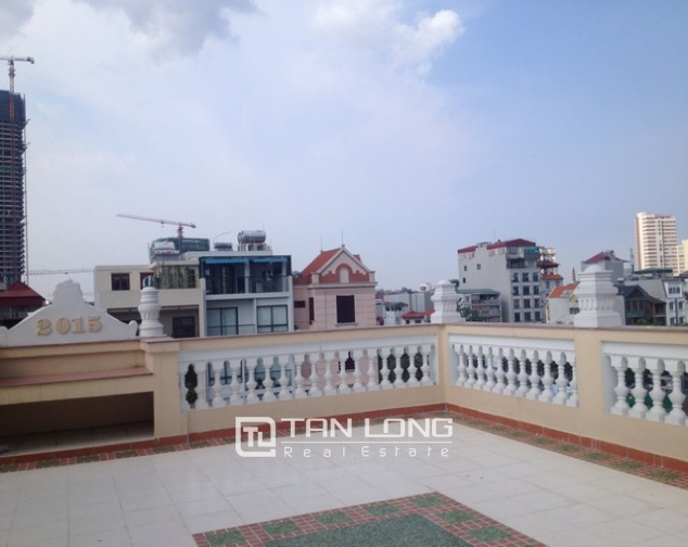 Villa with 4 storeys for rent in Cau Giay, near Cau Giay park 6