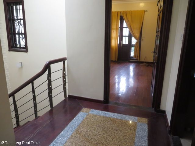 Villa with large yard in D2 Ciputra, Tay Ho dist for rent 4