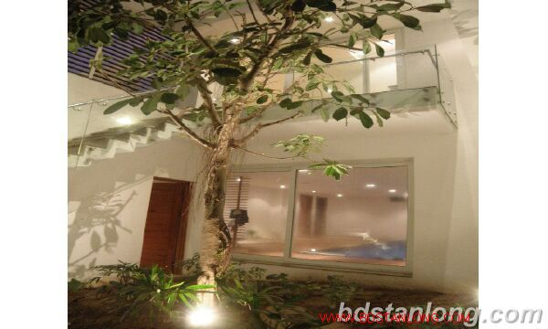 Villa with Westlake view in Xuan Dieu, Tay Ho for rent 8