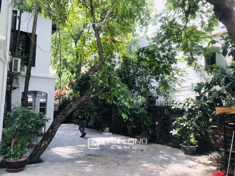 Villas for rent in Dang Thai Mai street, Tay ho district 8