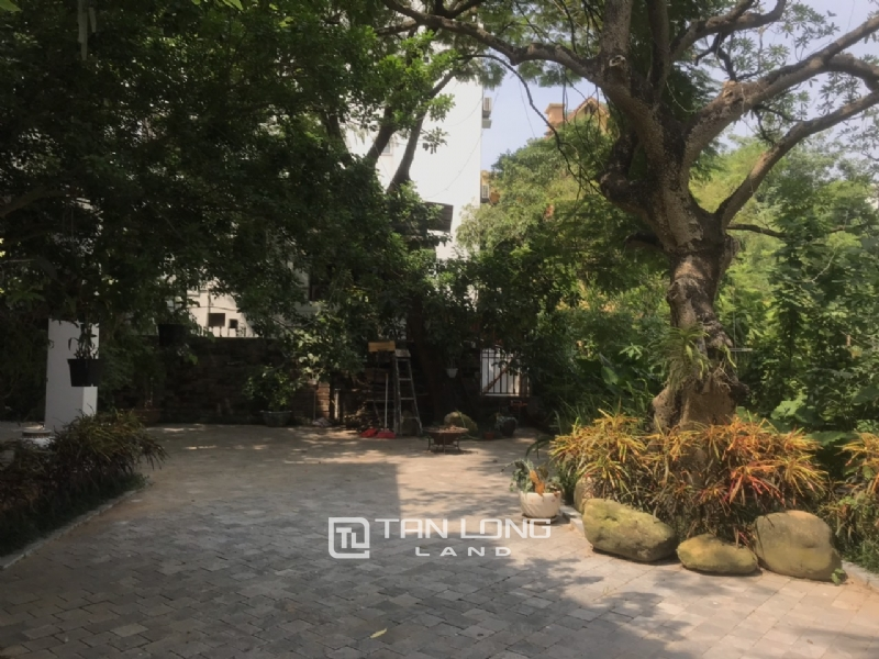 Villas for rent in Dang Thai Mai street, Tay ho district 14