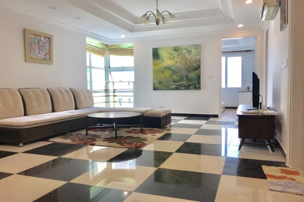 Vintage style 3 bedroom furnished apartment for rent in G3 tower Ciputra Tay Ho